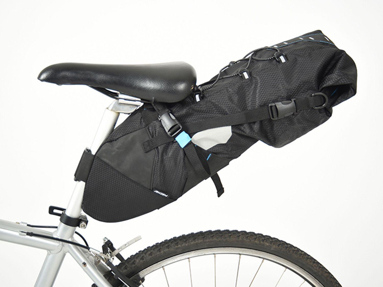 Hinter Der Unscheinbaren Bezeichnung Fischer Satteltasche Mtb Xl Verbirgt Sich Der Einstieg Von Discounter Lidl Ins Bikepacking Zub In 2020 Rennrad Satteltasche Rennen