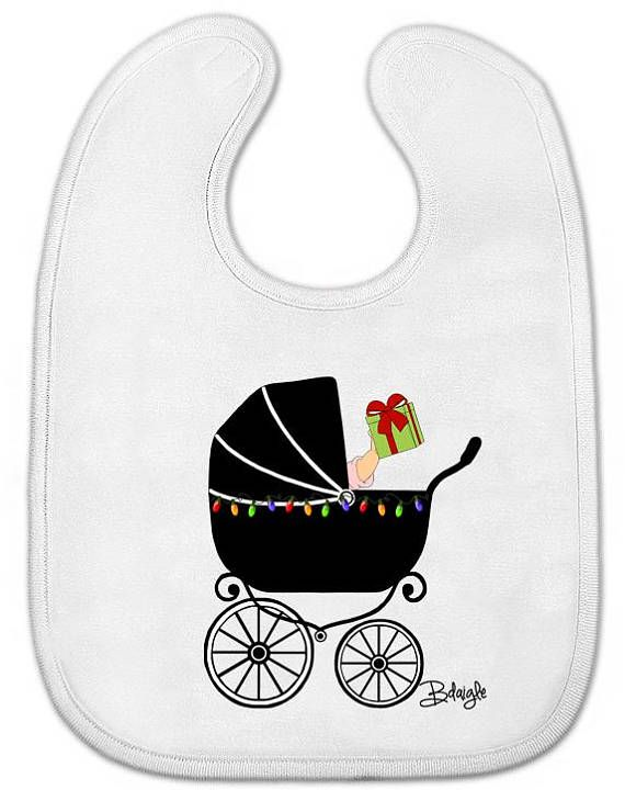 Baby All-in-One Bodysuit OR Bib CHRISTMAS New Orleans ...