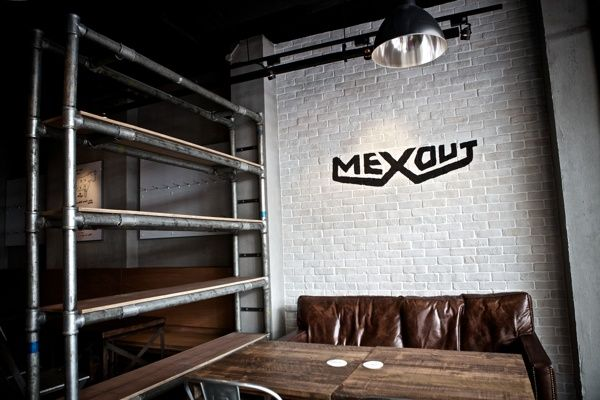 Diseño gráfico] branding para mexout, un restaurante mexicano en ...