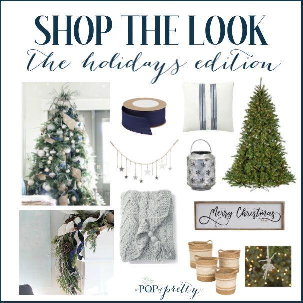 How to Put Ribbon on a Christmas Tree (Tutorial #ribbononchristmastreeideas How to Put Ribbon on a Christmas Tree (Tutorial) - A Pop of Pretty Home Decor Ideas #howtoputribbononachristmastree
