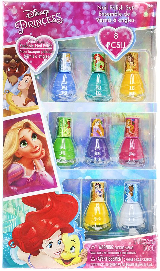 This Disney Princess Dress Nail Polish Set is the perfect stocking