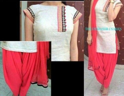Boutique Suit Kurta Designs Indian Outfits Kurti Designs