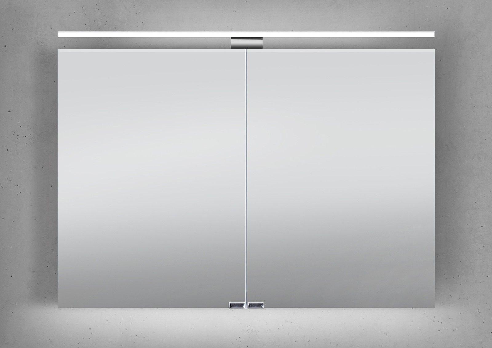 Exceptional Design Bad Spiegelschrank100cm, Eiche Anthrazit. Spiegelschrank 100 CmSpiegelschrank  BadLed BeleuchtungModisch
