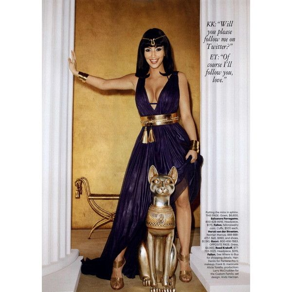 harper 39 s bazaar editorial kim kardashian cleopatra with a k march liked on polyvore my. Black Bedroom Furniture Sets. Home Design Ideas