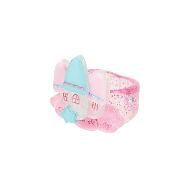 Enchanted Castleリング|KERA SHOP[ケラ!ショップ] ❤ liked on Polyvore featuring jewelry, rings, accessories, bracelets and angelic pretty
