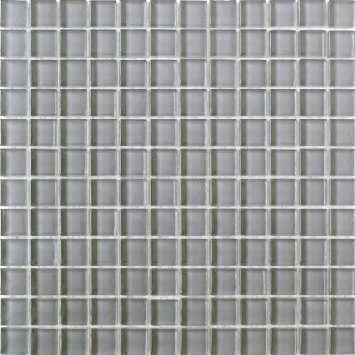 Interceramic Interglass Shimmer Smoke 1 Quot X 1 Quot Mosaic