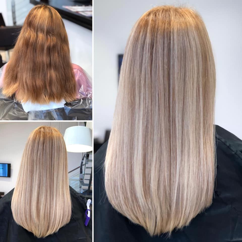 Before And After In 2020 Hair Hair Designs Long Hair Styles