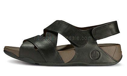 db65c19ece424d Mens Sandals Fitflop Lexx Black Shoes | Mens Fitflop Lexx | Black ...
