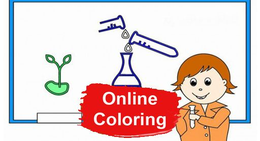 Science Online Coloring Online Coloring Pages Pinterest - new coloring pages about science