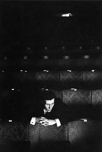 Playwright/Director: John Osborne, Royal Court Theatre, London, 1957, by Bob Willoughby