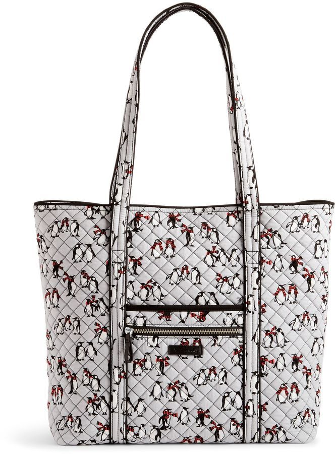 291682dc48 Phi Sigma Rho Sisters Vera Bradley Penguin tote - How cute is this Phi  Rho s ! Perfect penguin product to carry around campus.