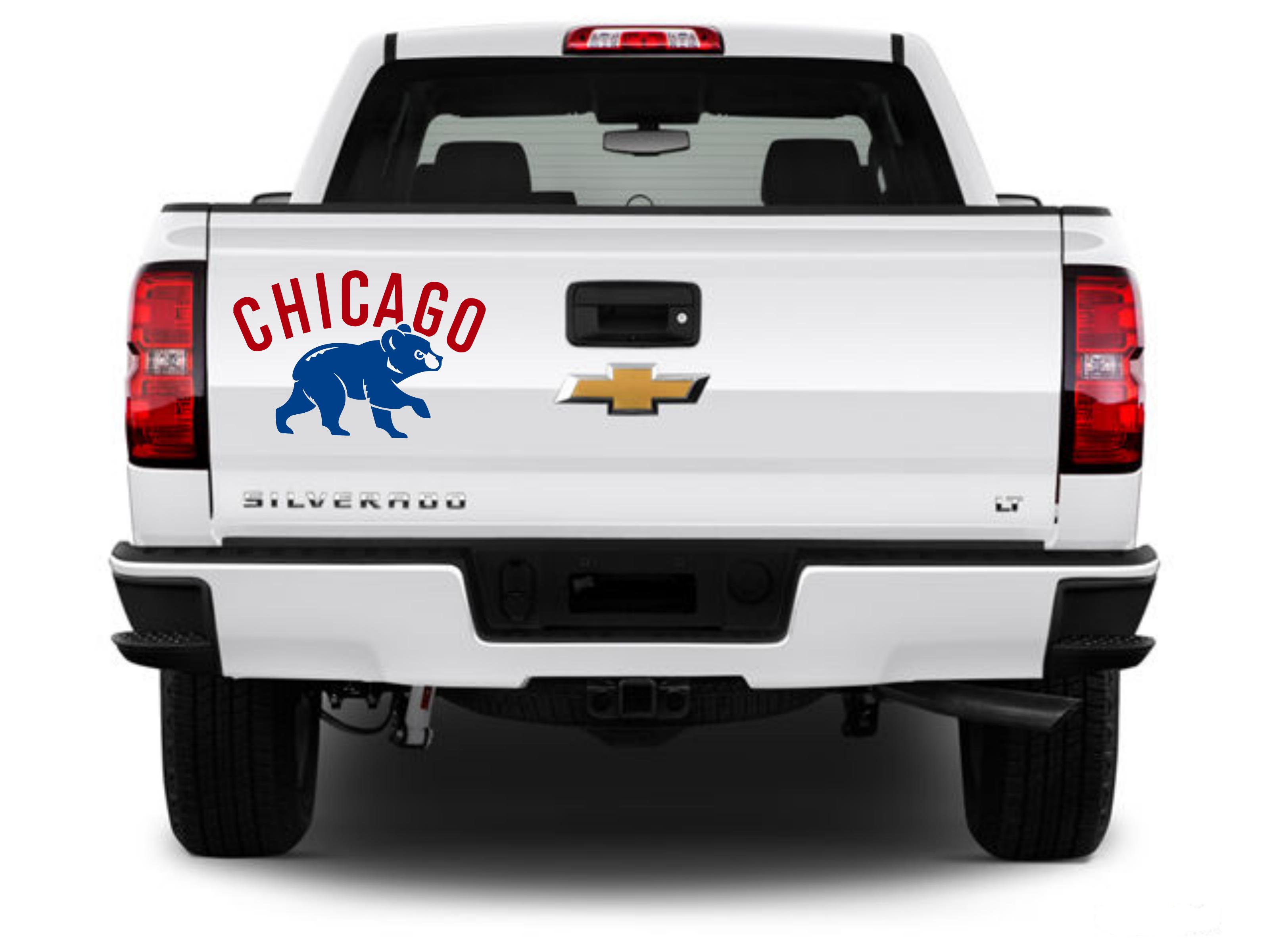 Chicago Cubs Logo Vinyl Decal Vinyl For Cars Vinyl Decals Chicago Cubs [ 2399 x 3199 Pixel ]