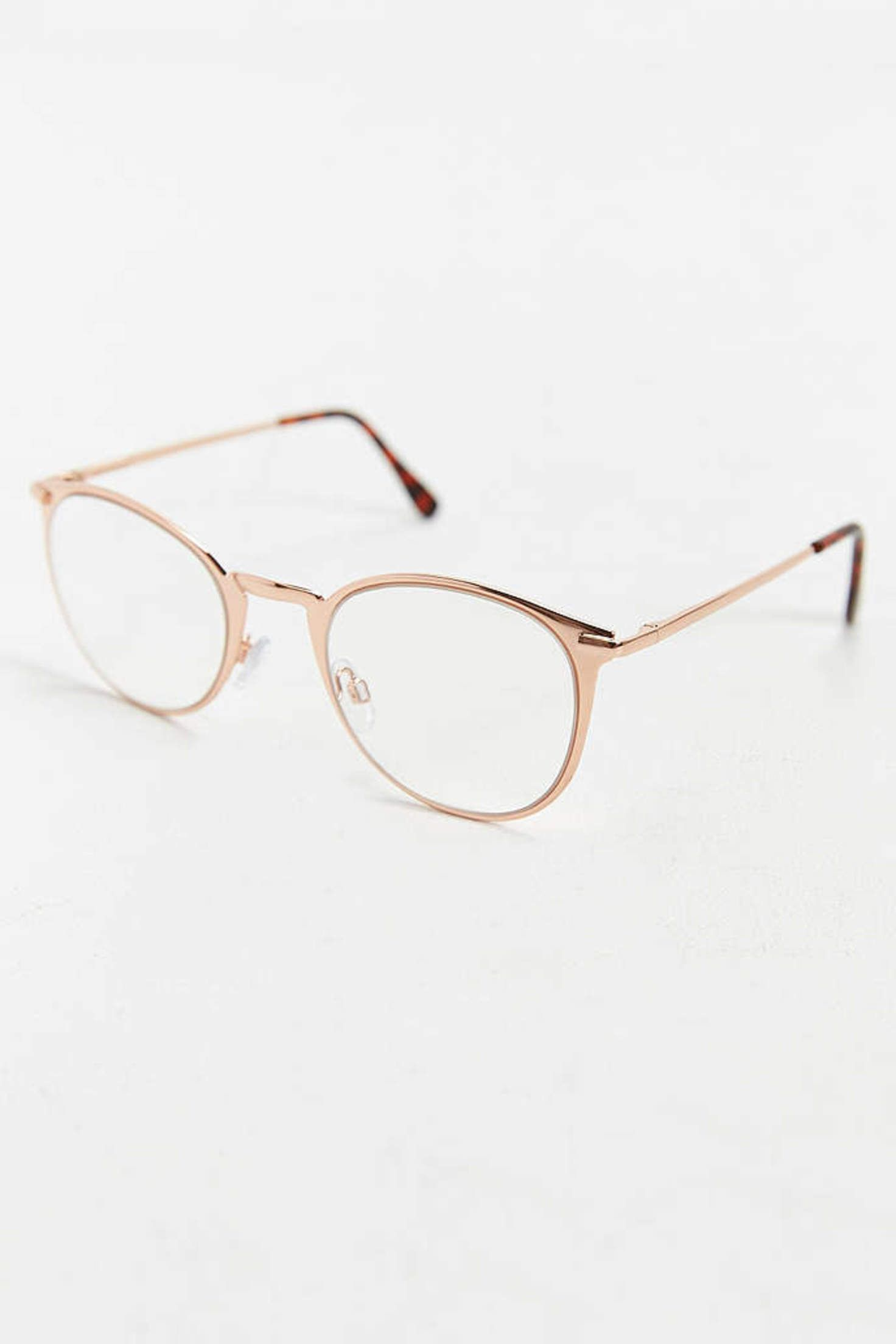 ca388b29ae Rose Gold Round Readers - Urban Outfitters