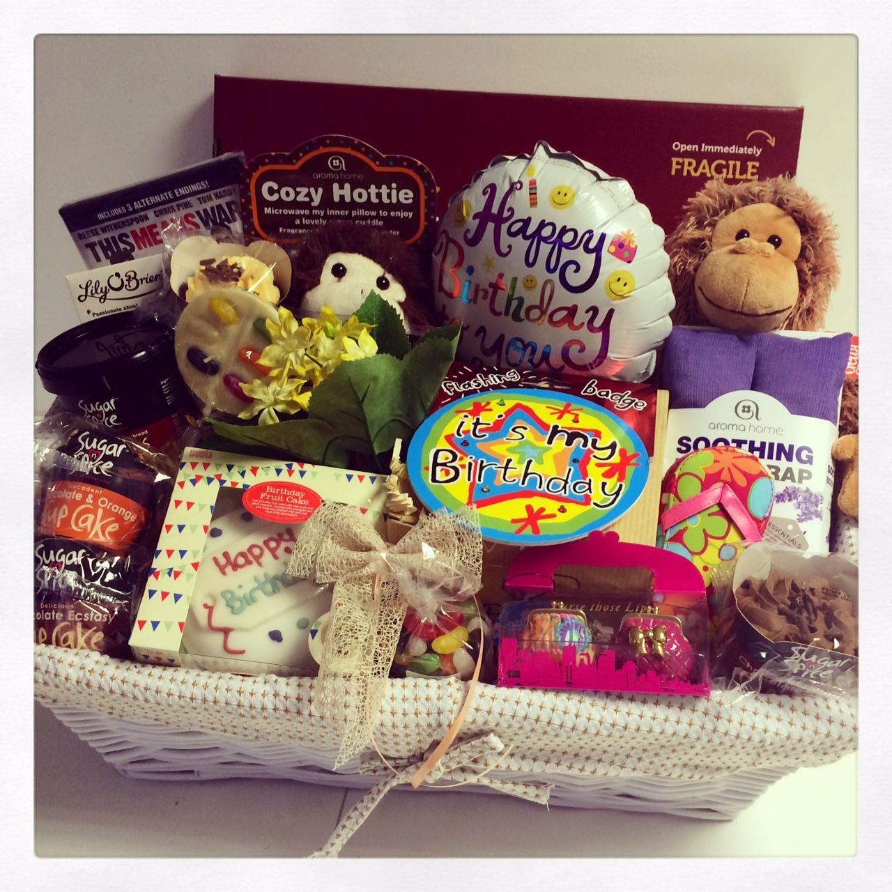 18th Birthday Gift Basket Ideas