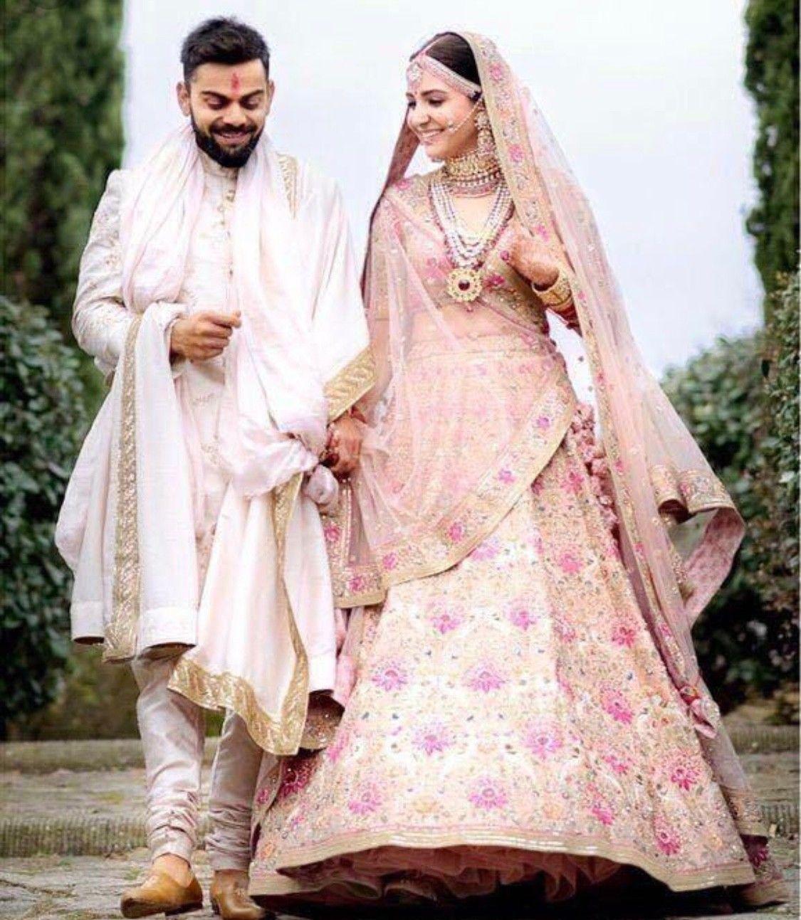 Image result for anushka sharma wedding dress