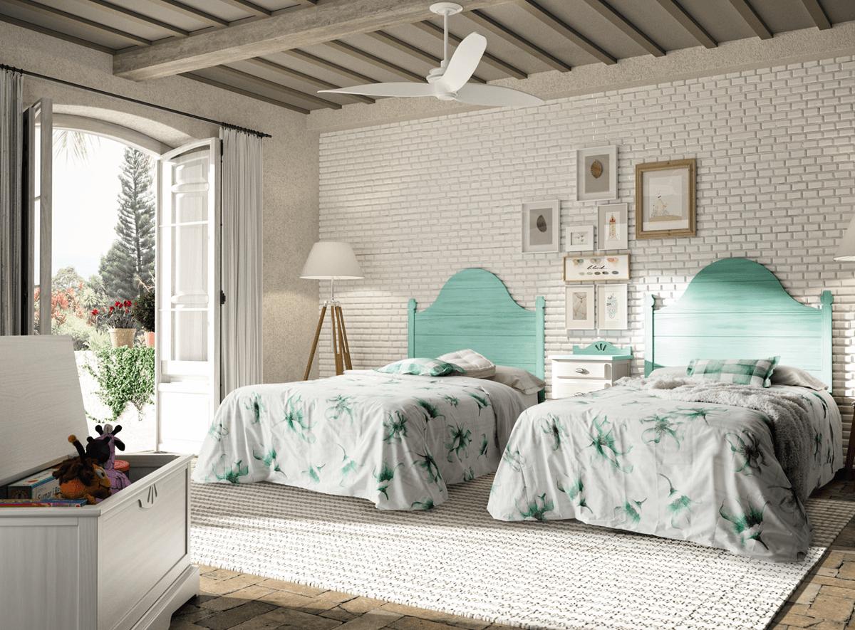 Habitaciones juveniles | Mueble Rústico Colonial – Muebles Intermobel®