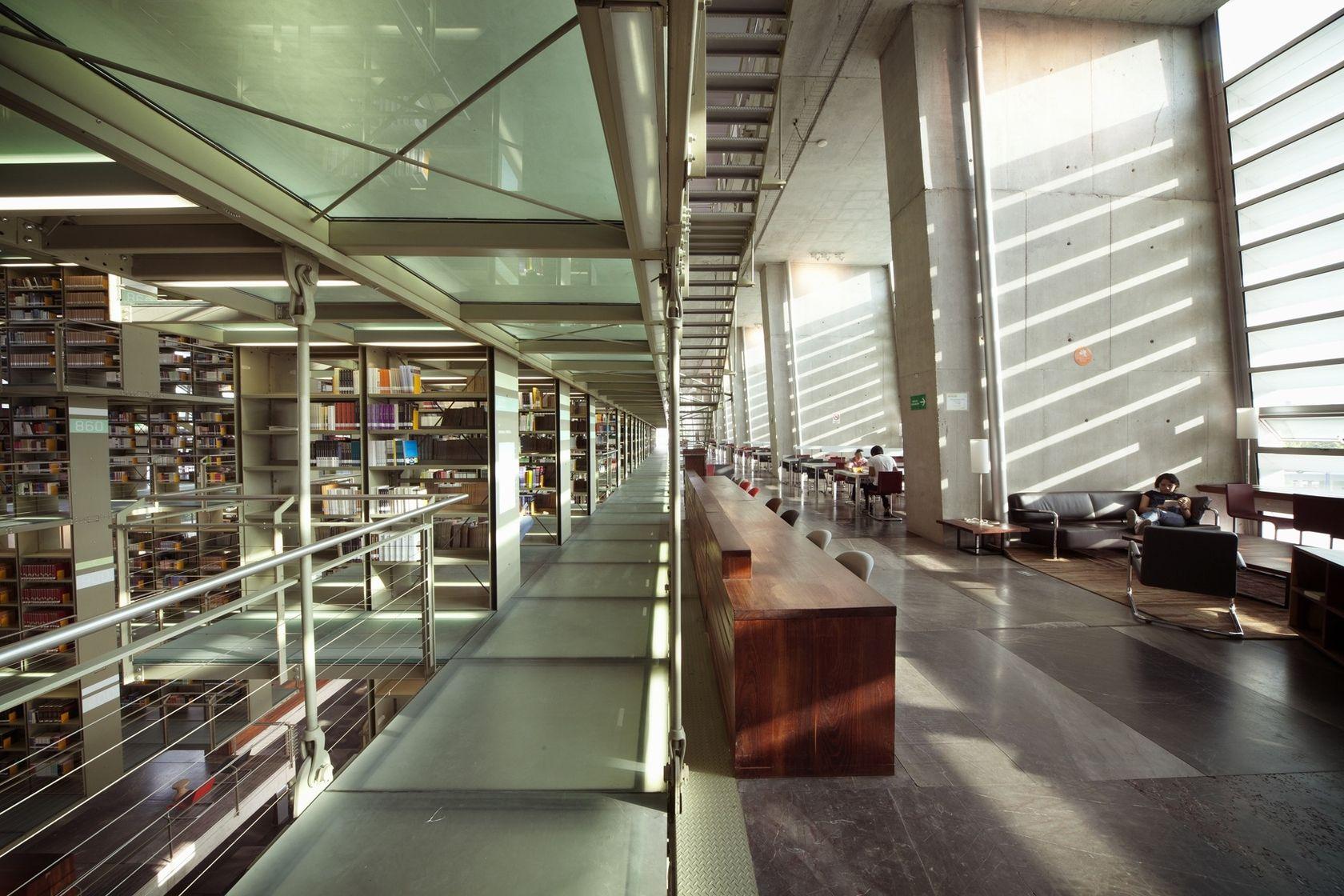 Biblioteca Vasconcelos Interior Architecture Design