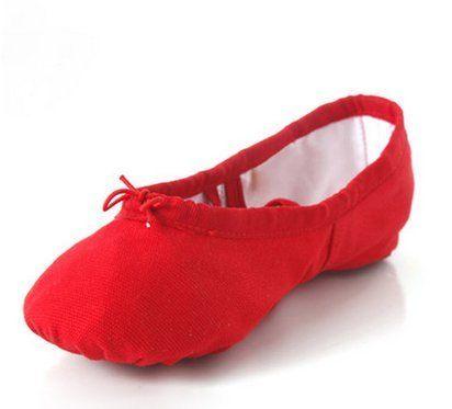Weiche Sohle Tanz Ballett Schuhe Komfortable Fitness Atmungsaktive Leinwand Ballettschuhe/Ballettschläppchen für Kinder und Erwachsene sandfarben 22-40 - http://on-line-kaufen.de/long-dream/weiche-sohle-tanz-ballett-schuhe-komfortable-f-r