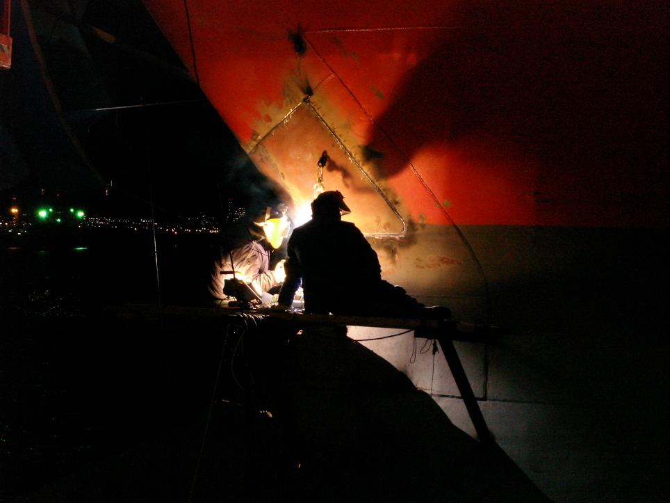 MIESA Montajes Industriales EOS: Google+ Reparación en barco, trabajos de soldadura