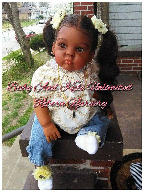 Custom Reborn Toddler Baby Made From Cuddles Kit Aa Reborn