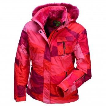 Envy Kanata Ski Jacket Women Pink Skiwebshop Com Ski Jacket Women Ski Jacket Ski Pants Women