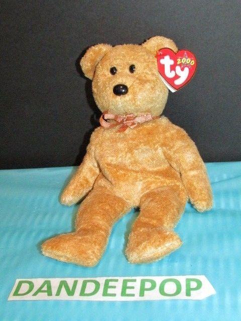 e31522a5f3e TY Retired Beanie Baby Cashew Bear 2000 With Rare Tags Ty 2000  Ty  Beanie   cashew  bear  beaniebaby  retired  rare  dandeepop Find me dandeepop.com