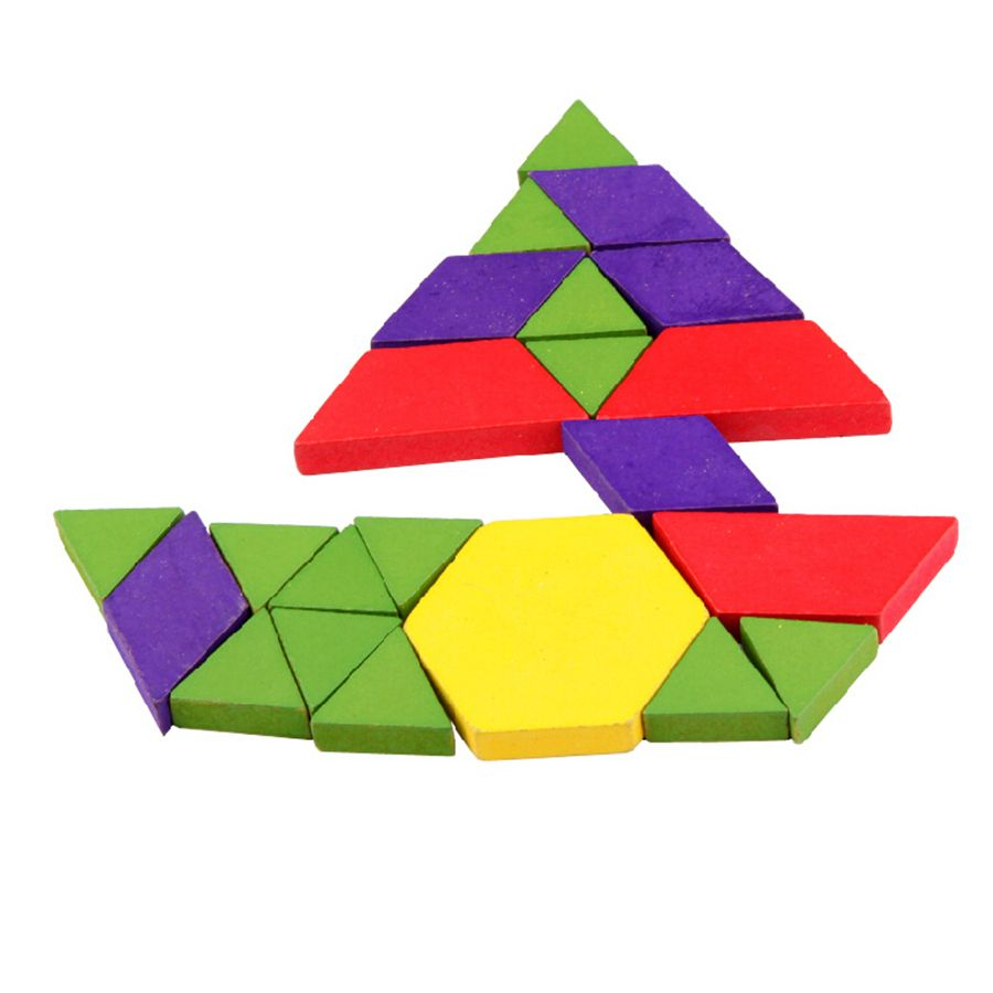wooden puzzle toy puzzles for children 6 years tangram jigsaw christmas tree decorations board games for kids toys