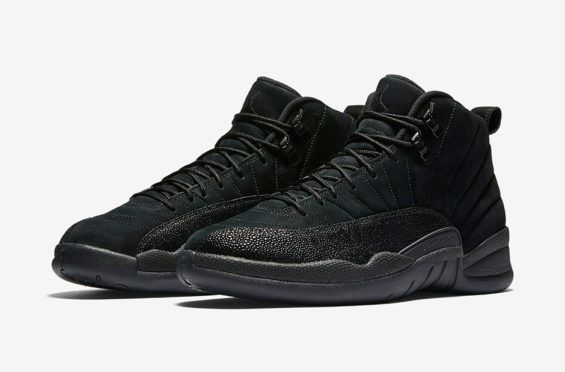 100% authentic 7ffa3 81675 Official Images Of The Air Jordan 12 OVO Black That Releases Next Week