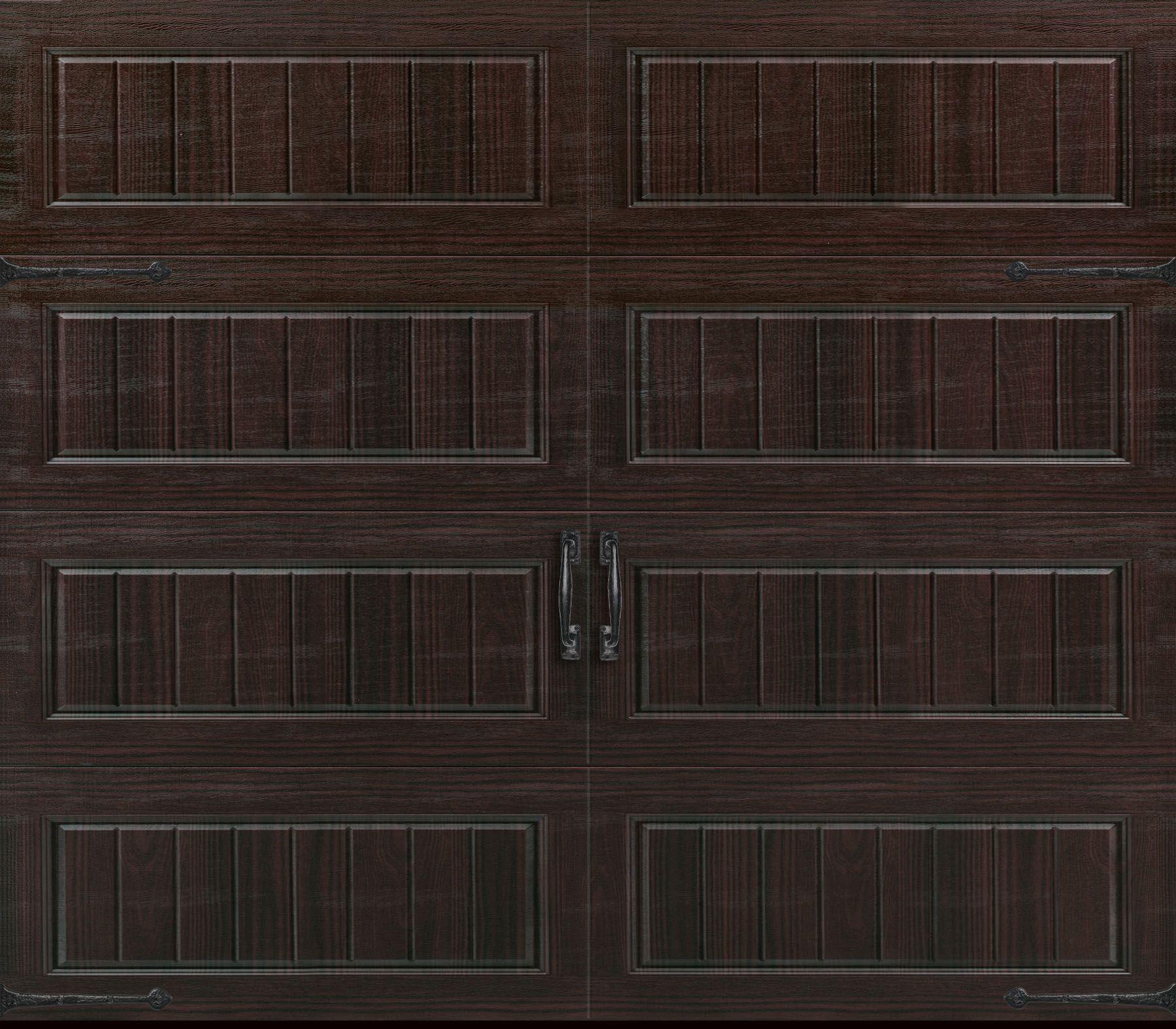 Amarr Oak Summit 1000 Walnut Garage Door: Oak Summit 3000 Collection. Long