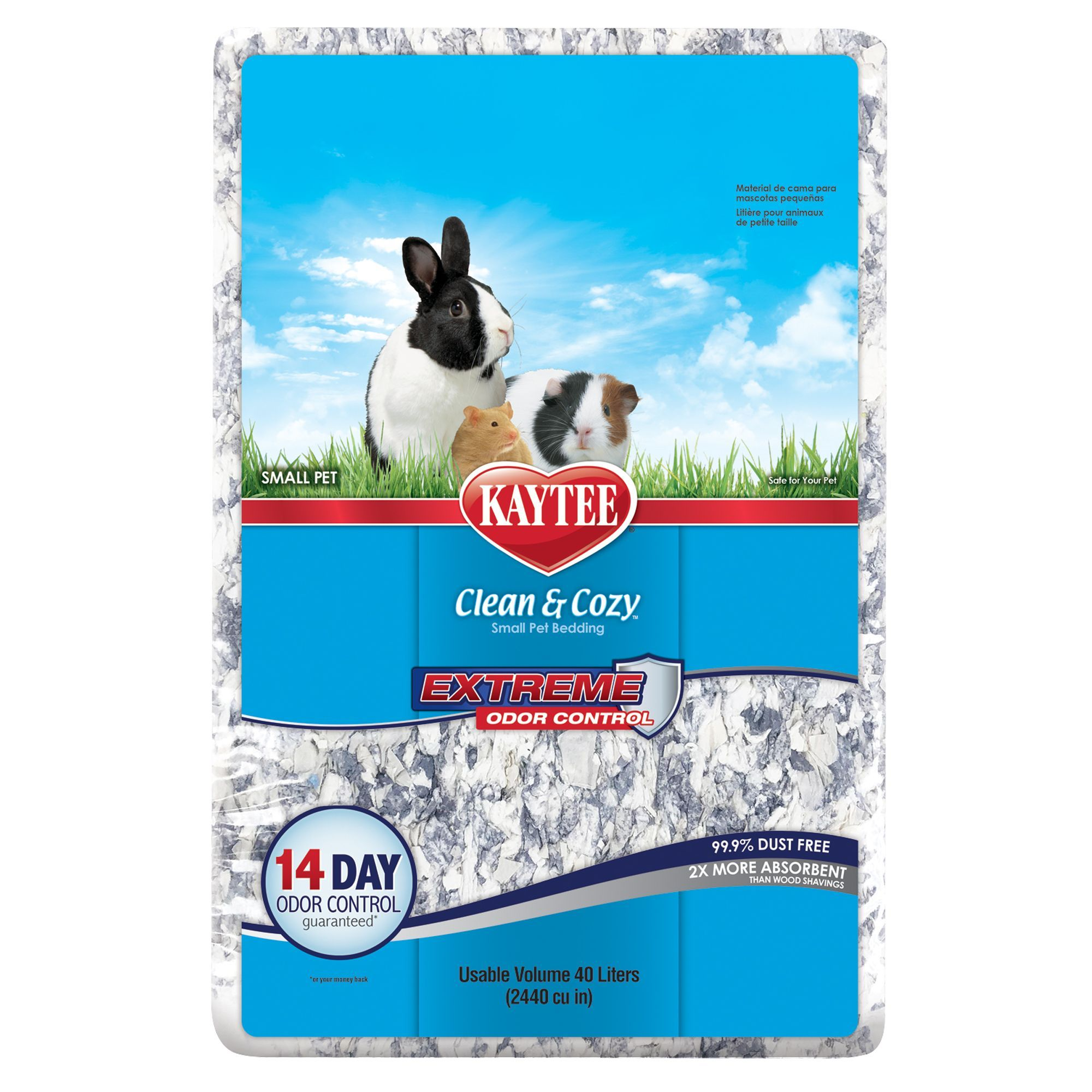 KAYTEE Clean and Cozy, Extreme Odor Control Small Pet
