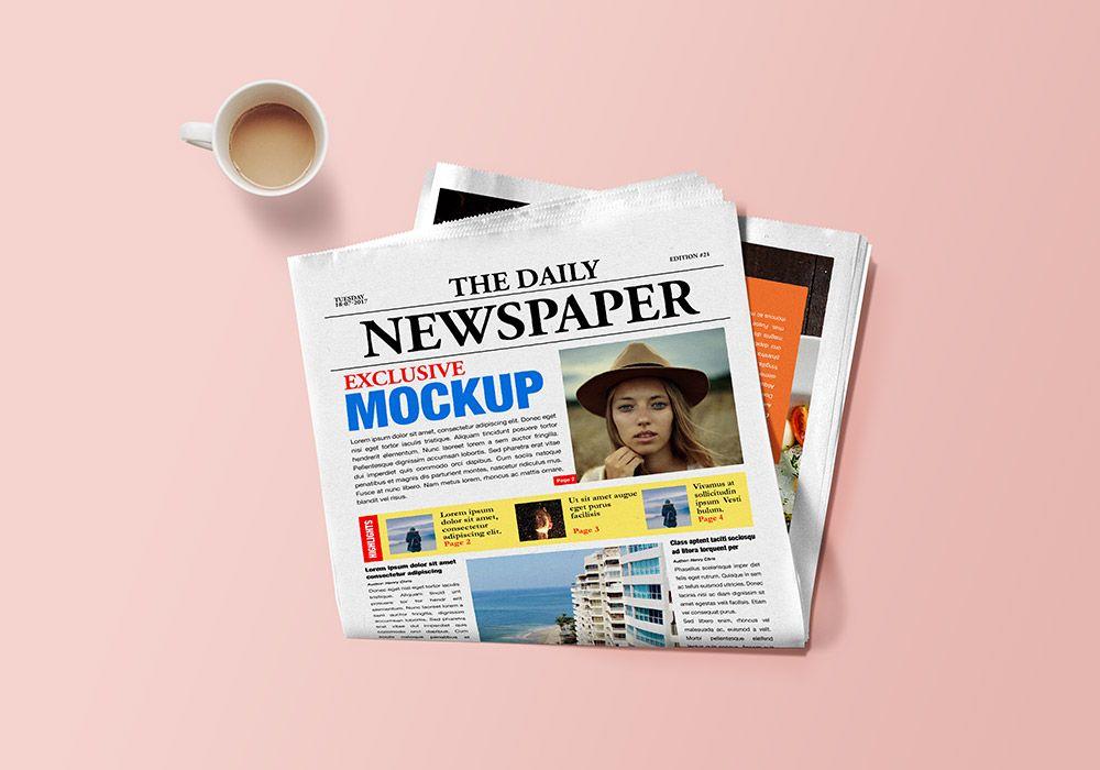 Newspaper Mockup Psd Graphicsfuel Mockup Psd Free Mockup Mockup Free Psd