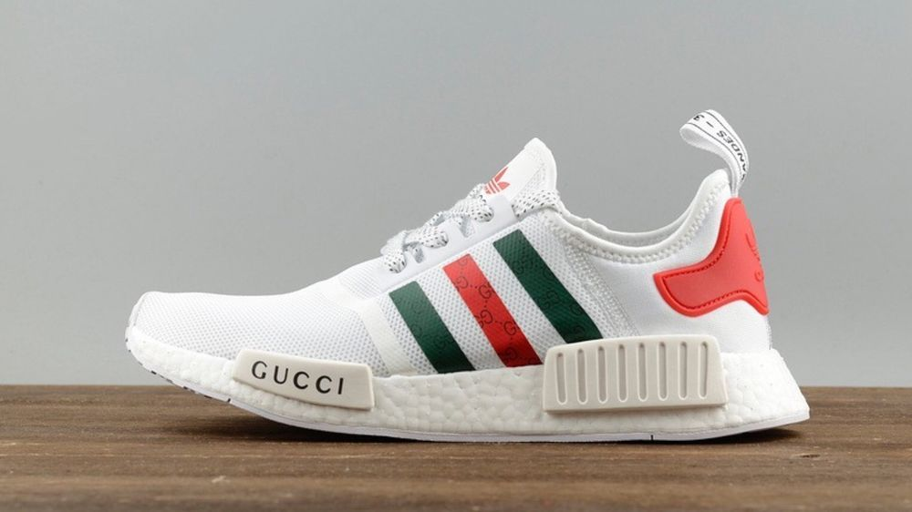 18130321ca796 Adidas-Custom-WHITE-Gucci-NMD NEW SIZE 9.5  fashion  clothing  shoes   accessories  mensshoes  athleticshoes (ebay link)