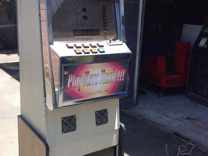 We have an excellent condition jukebox for sale has built in