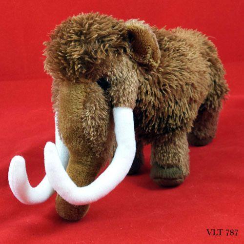 Douglas Wooly Mammoth Plush Everett Extinct Dinasour Ice Age Animal