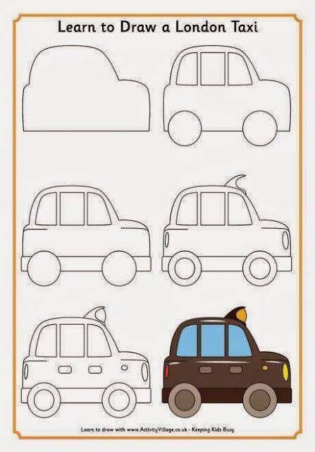 Carros A Lapiz Faciles 3 Paso A Paso Para Dibujar En 2018