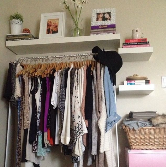 Great Small Apartment Spaces #closet #organizingtips