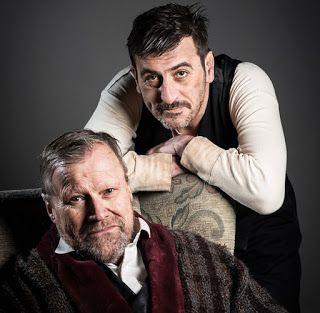 Coronation Street Blog: David Neilson and Chris Gascoyne as you've never seen them before