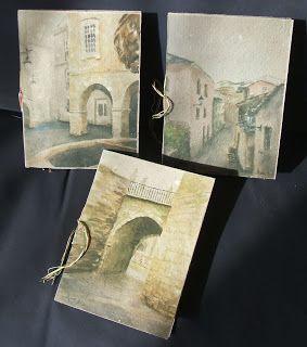 ReciclArte + tallerdepolo: Libretiñas con recunchos de Lugo
