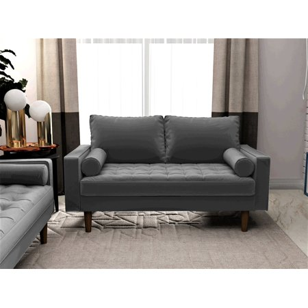 Home With Images Love Seat Mid Century Modern Sofa Modern Rustic Interiors