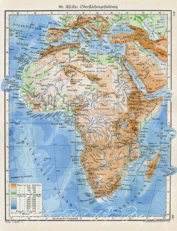 Antique Physical Map of Africa 1920s 30s by ... on map of ethiopia, map of benin, map of goa, map of martin luther, map of ghana, map of span, map of art, map of adobe, map of amer, map of asia, map of last, map of afr, map of amst, map of univ, map of soc, map of fren, map of history, map of nigeria, map of europe, map of namibia,
