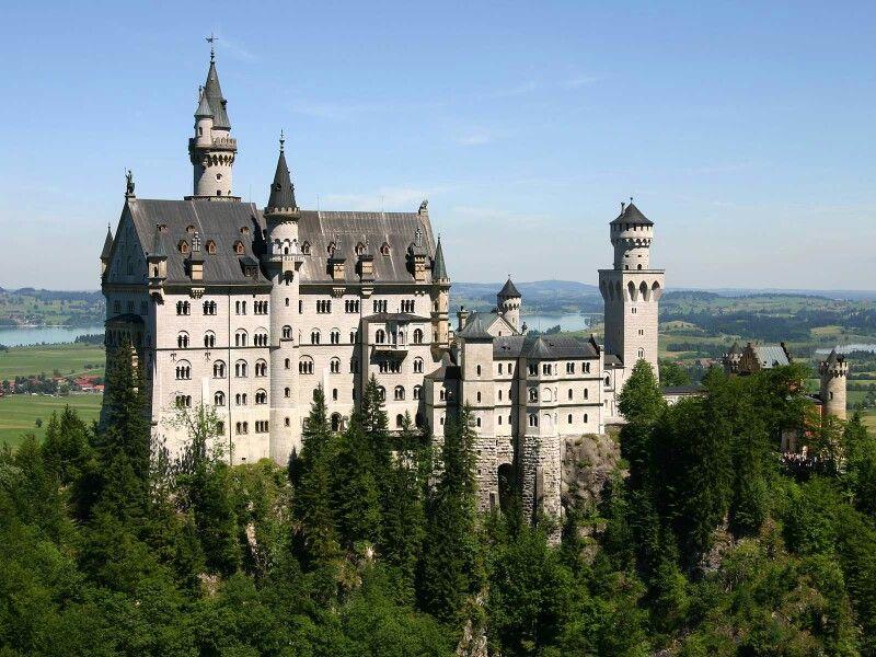 Castels Germany Castles Neuschwanstein Castle Castle Bavaria