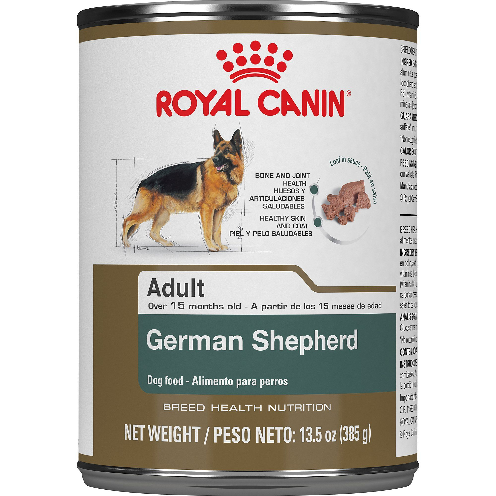 Royal Canin Breed Health Nutrition German Shepherd Loaf In Sauce