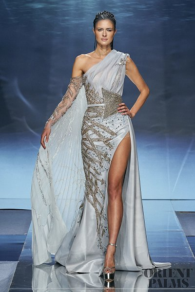 Ziad Nakad Spring Summer 2020 Couture In 2020 Designer Evening Gowns Couture Gowns Couture Dresses