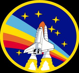 PublicDomainVectorsorgVector clip art of rainbow rocket