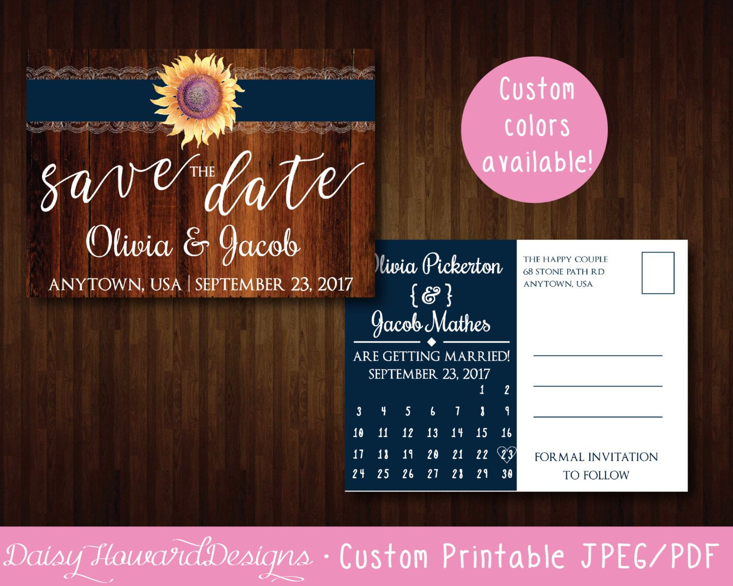 wedding calendar template