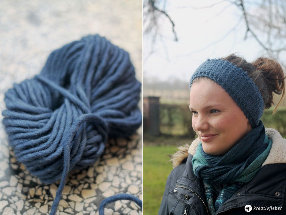 Knitting Diy Headband Diy Pinterest Stricken Stirnband