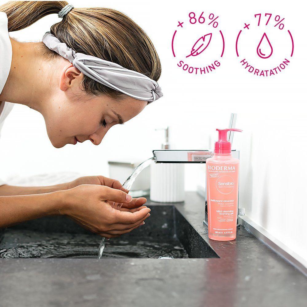 Bioderma Sensibio Foaming Facial Cleansing Gel For Sensitive Skin