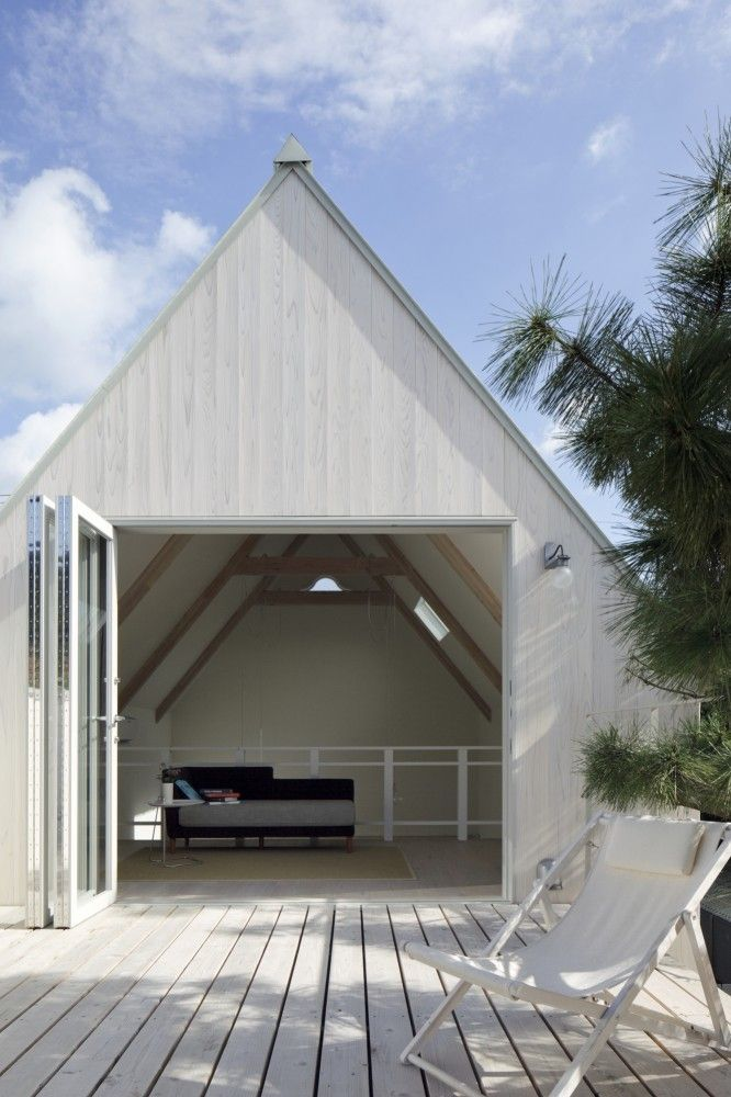 Gallery of Seaside Retreat Hayama / YJP architecture - 19 fantasy - Idee Facade Maison Moderne