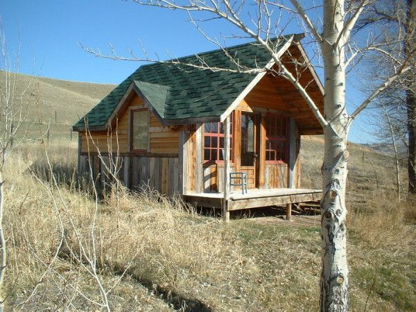 tiny house Paul's Montana Cabin