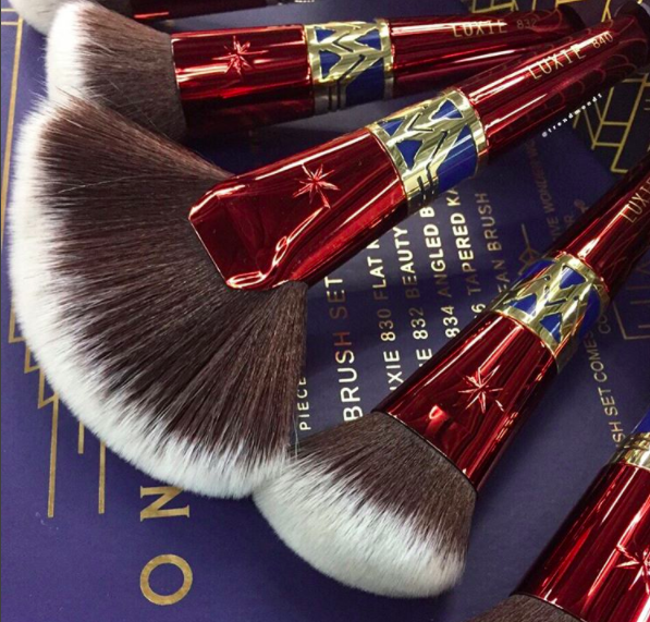 The Wonder Woman makeup brush set is even more badass than